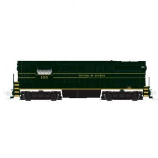 Atlas Central of Georgia #105 H15 44 with decoder N Scale Locomotive Toys & Games