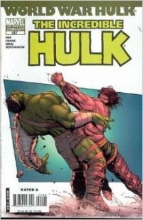 Incredible Hulk #107 2nd Print Variant (World War Hulk): Gary Pak: Books