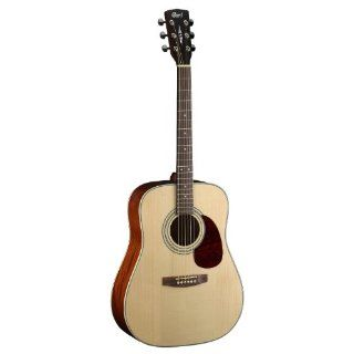 Cort Earth 100 Ns Acoustic Dreadnaught Guitar: Musical Instruments