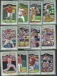 Los Angeles Angels 2013 Topps GYPSY QUEEN Baseball Complete Mint 13 Basic Card Team Set; It Was Never Issued in Factory Form. Cards Included Are Josh Hamilton, Albert Pujols, #270 Jim Abbott, #252 Jason Vargas, #224 C.j. Wilson, #146 Erick Aybar, #127 Rod