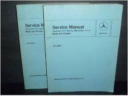 Service Manual Series 114 115 Vols. 1 & 2 (Body & Chassis Passenger Cars Starting 1968) Mercedes Benz Books
