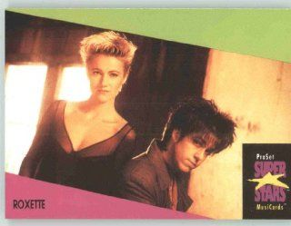 1991 Pro Set Superstars MusicCards U.K. Edition # 117 Roxette (Collectible Pop Music / Rock Star Trading Card): Toys & Games