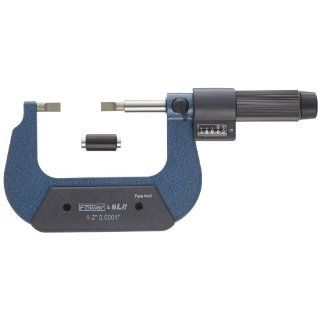"Fowler EZ Read Digit Blade Micrometer, 0.0001"" Graduation, 0.0002"" Accuracy: Industrial & Scientific"