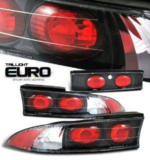 95 96 97 98 99 MITSUBISHI ECLIPSE GST GSX GS RS BLACK HOUSING ALTEZZA TAIL LIGHT LAMPS Automotive