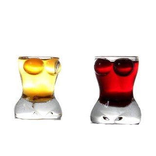 Creative Sexy Lady Body Shaped Shot Glass Red Wine Glass   China Shot Glass