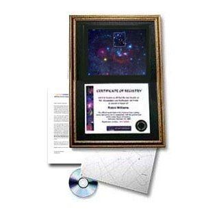 StarNamer Name A Star Framed Gift Package with Star Photo Baby