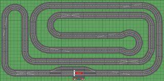 Carrera Digital 132 Slot Car Race Track Sets   Super Layout (30160 SL) Toys & Games