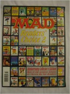 Mad Super Special #139 Aug. 1999 Ecch Rated Wolverton Frasier Law Order Billy Joel Inc. EC Publications Books