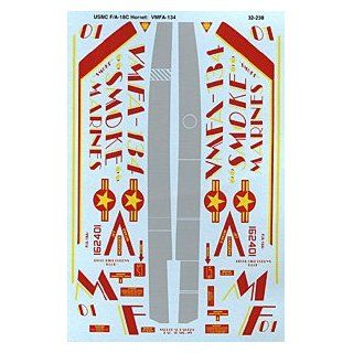 F/A 18 A+ Hornet: US Marines VMFA 134 (1/32 decals): Toys & Games