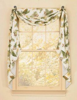 "Swag   Botanica Fishtail 145"" x 25""   Window Treatment Swags"