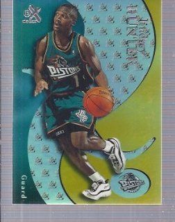 1999 00 E X #48 Lindsey Hunter Detroit Pistons Jackson State: Sports Collectibles