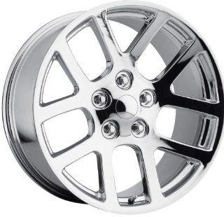 22x10 Replica Dodge Ram SRT 10 Chrome Wheel Rim 5x139.7 5x5.5 +25mm Offset 77.8mm Hub Bore Automotive