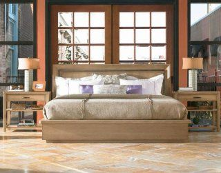 Queen Loft Bed by Pennsylvania House   Wood Stone Finish (929310R): Home & Kitchen