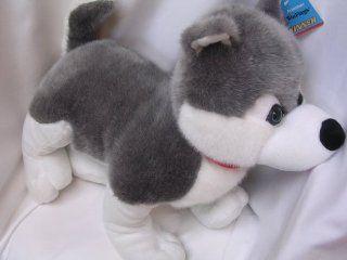 "Husky Dog Plush Toy Large JUMBO 22"" Collectible Toys & Games"