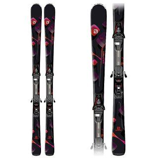 Salomon Lava+L10 Skis Women's 143cm : Alpine Skis : Sports & Outdoors