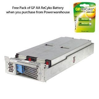 APC SUA2200R2X147 Battery 12V, 5Ah   Genuine APC RBC43 Cartridge #43 Maintenance Free Lead Acid Battery: Everything Else