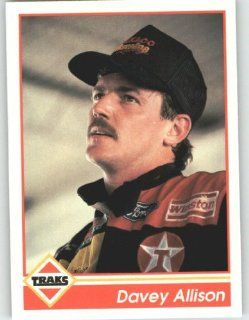1992 Traks #156 Davey Allison   NASCAR Trading Cards (Racing Cards): Sports Collectibles