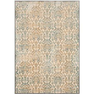Safavieh PAR157 160 4 Paradise Collection Area Rug, 4 Feet by 5 Feet 7 Inch, Grey/Multi Viscose   Area Rugs