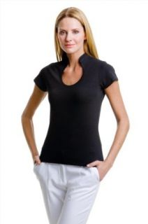 Kustom Kit Corporate top keyhole neck women's: Clothing