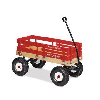 Radio Flyer All Terrain Cargo Wagon: Toys & Games