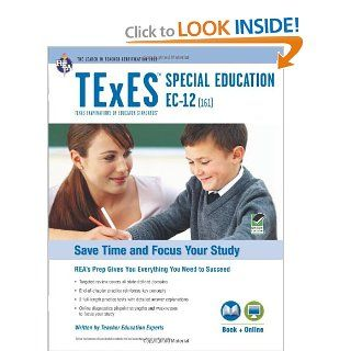 Texas TExES Special Education EC 12 (161) Book + Online (TExES Teacher Certification Test Prep): Editors of REA: 9780738611419: Books