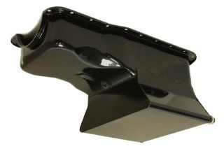 1965 87 Ford Small Block 351W Drag Racing Oil Pan   Black: Automotive