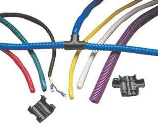 Taylor Cable 38500 Black Convoluted Tubing: Automotive