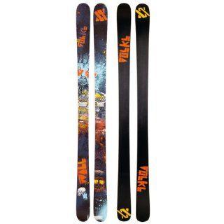 Volkl Wall Men's 169 cm Twin Tips Skis 2012 : Alpine Skis : Sports & Outdoors