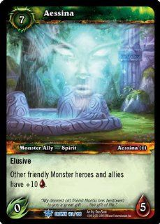 World of Warcraft TCG   Aessina (162)   Crown of the Heavens: Toys & Games