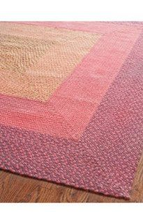 Safavieh Braided Collection BRD165A Pink and Purple Braided Cotton Area Runner, 2 Feet 3 inches by 8 Feet (2 Feet 3 Inch x 8 Feet)   Braided Rugs