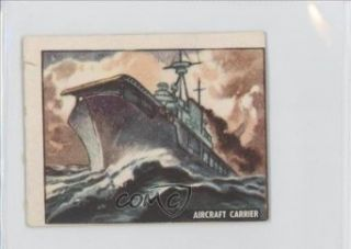 Aircraft Carrier COMC REVIEWED Good to VG EX (Trading Card) 1950 Freedom's War #171 Collectibles & Fine Art