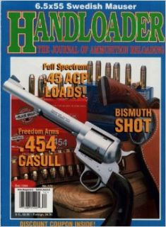 Handloader Magazine   December 1994   Issue Number 172: Dave Scovill, Jim Wilson, Layne Simpson, Kenneth L. Walters, Ken Waters, Al Miller, L.P. Brezny, J. Ken Chapman, Richard A. Conrad, John Kronfeld, Wolfe Publishing Company: Books