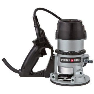PORTER CABLE 691 11 Amp 1 3/4 Horsepower D Handle Router with 1/4 Inch and 1/2 Inch Collets   Power Routers