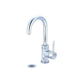 Pioneer 3MT181G BN Single Handle Lavatory Faucet, PVD Brushed Nickel Finish: Home Improvement