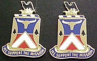 181st Support Battalion Distinctive Unit Insignia   Pair Clothing