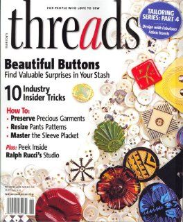 Threads, November 2008 Issue: Editors of THREADS Magazine: Books