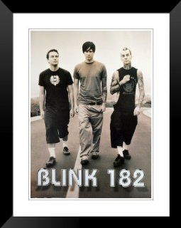 "Blink 182 Tom DeLonge Mark Hoppus tour poster . large new approx 34"" x 24"" inch ( 87 x 61 cm )   Prints"