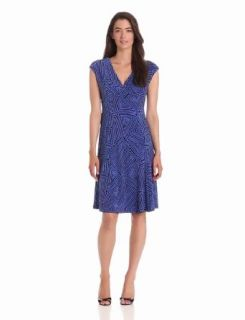 Jones New York Women's Tribal Maze Print Short Dress at  Women�s Clothing store