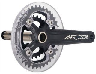 Azonic Meat Grinder FR Free Ride Mountain Bike Crank Set (175  mm, Skull Wrap): Sports & Outdoors