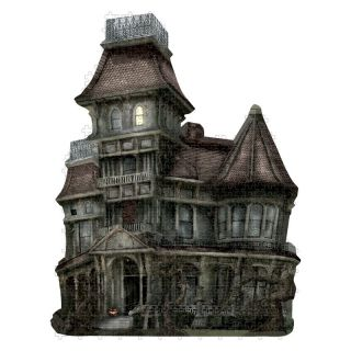 Paper House Haunted House Puzzle   Jigsaw Puzzles