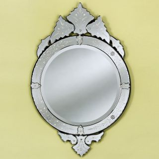 Samantha Venetian Wall Mirror   28.5W x 43.5H in.   Wall Mirrors