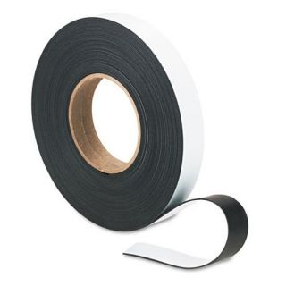Magna Visual 1 in. x 50 ft. Roll Magnetic Write On/Wipe Off Strips   Board Accessories