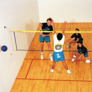 Wallyball Official Wallyball Game Kit   Indoor Volleyball Net Systems