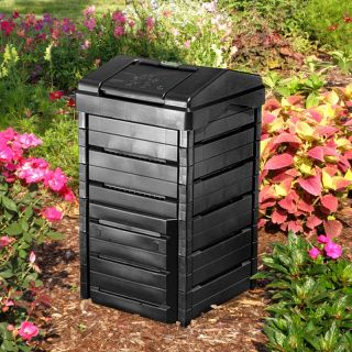 Garden Gourmet 82 Gallon Recycled Plastic Compost Bin   Composting Bins