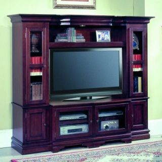 Parker House Ridgeline Expandable Space Saver Entertainment Center   Entertainment Centers