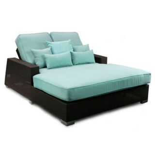 Patio Heaven Signature Double Chaise   Outdoor Chaise Lounges