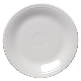 Fiesta White Dinner Plate 10.5 in.   Set of 4   Dinnerware