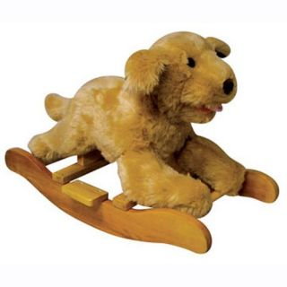 Rocking Golden Labrador Puppy with Sound   Rocking Animals