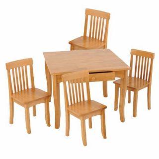 KidKraft Avalon Kids Study Desk Set with Hutch and Chair