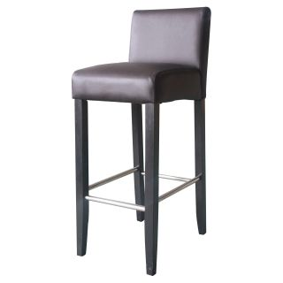 4D Concepts Low Back Bar Stool with Oversized Seat   Bar Stools